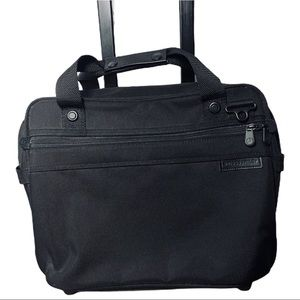 Briggs & Riley Large Rolling Brief/ CarryOn Bag